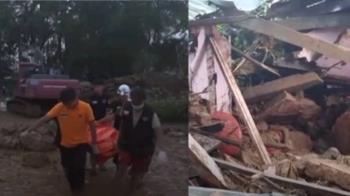 緬甸暴雨…土石流爆發釀13死 百人失蹤