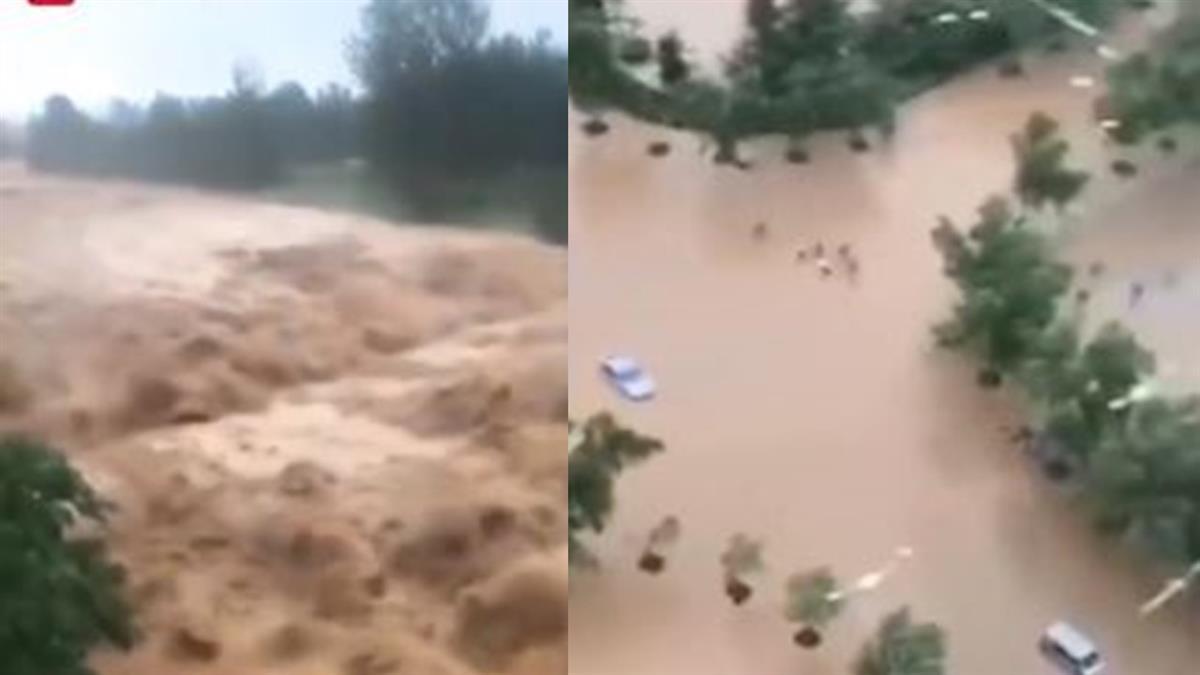畫面曝光!利奇馬颱風釀32死 挾豪雨登陸山東