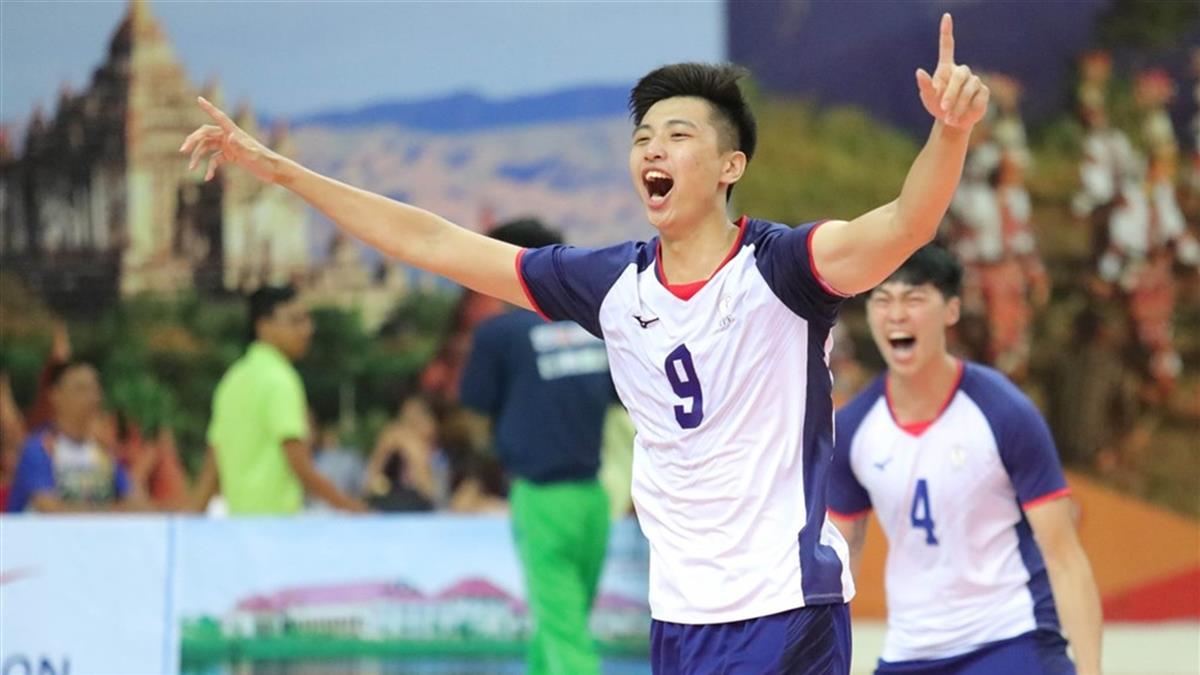 U23排球亞錦賽/史上首冠 中華男排痛宰印度封王