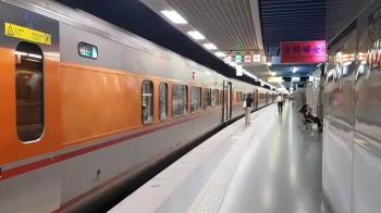 快訊/第八車箱機電冒煙!台鐵109列車 延誤15分鐘