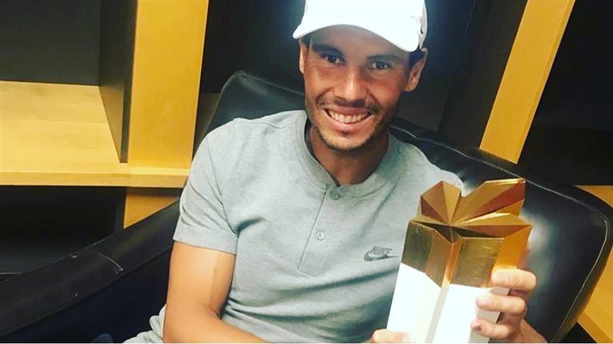 羅傑斯盃網賽 納達爾生涯第5度封王