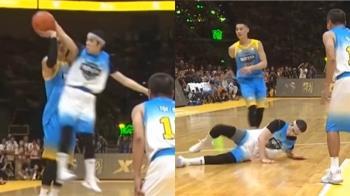 蕭敬騰參加慈善籃球賽 不慎摔落壓傷左手