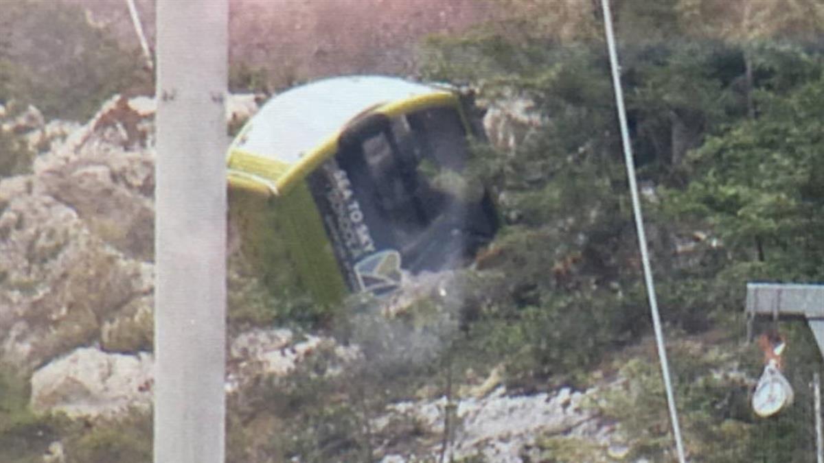 溫哥華海天纜車被剪斷 30車廂全墜地