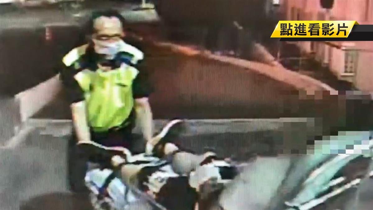 醉失控!男搭車持鐮刀攻擊 司機破頭遭推下車