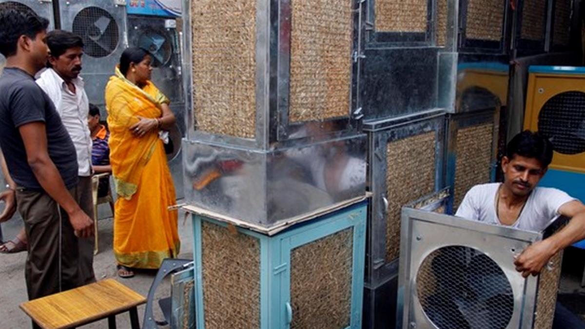 一次降10℃! 印度「稻草冷氣機」千元有找 民瘋搶