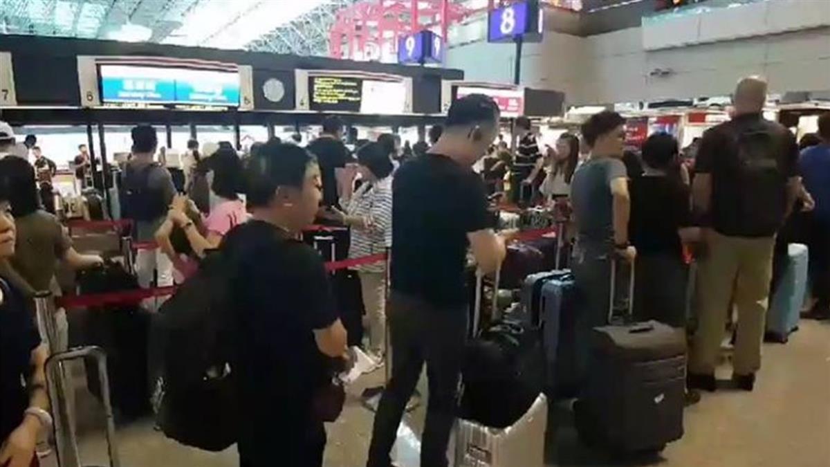 香港機場恢復作業 桃機今取消35航班