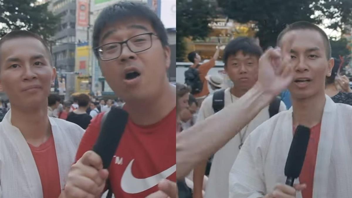 香港YouTuber街頭訪問 陸男怒譙:香港屬於中國