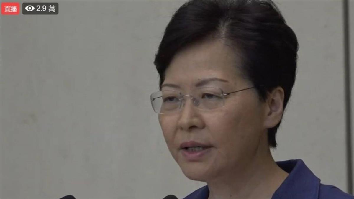 反送中癱瘓香港機場 林鄭月娥哽咽這樣說…