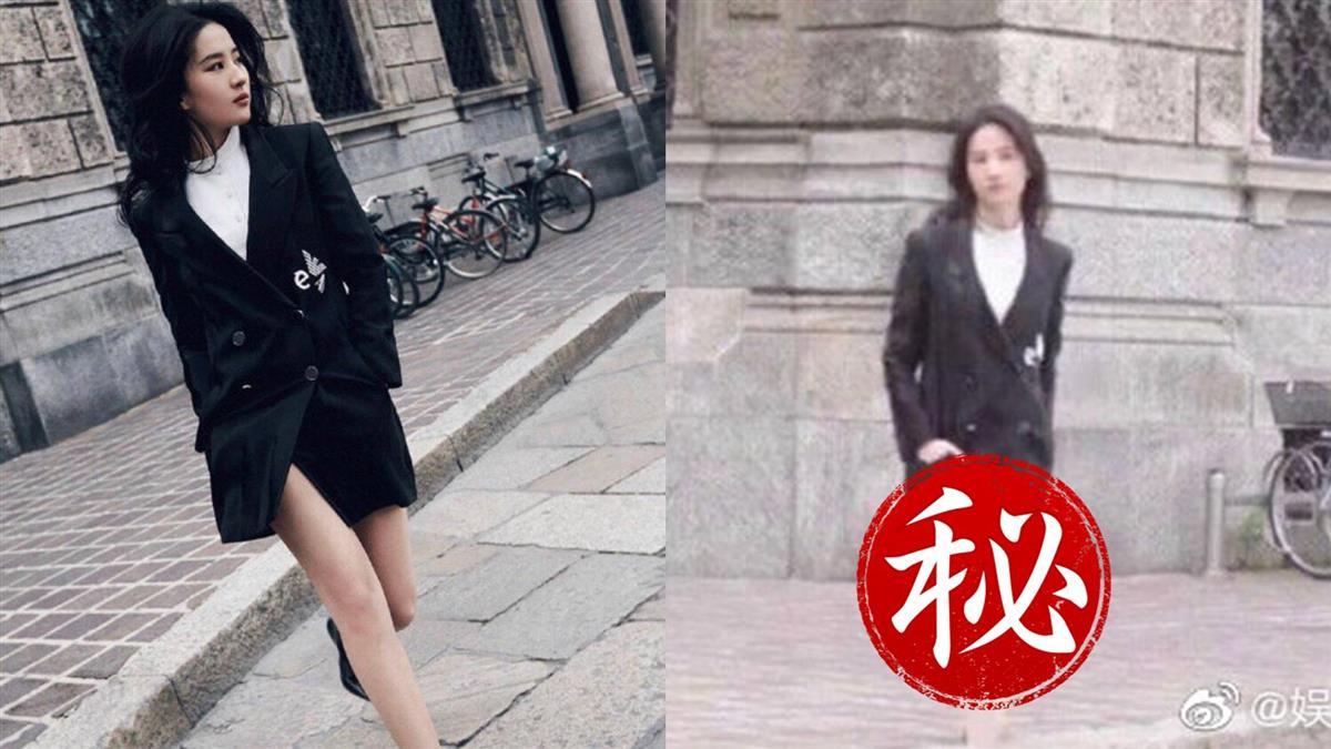 劉亦菲未P照瘋傳 網嚇跪:差太多…