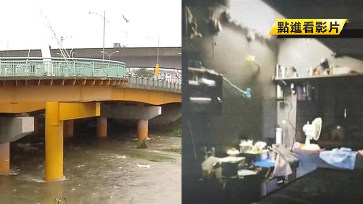 橋下驚見工業風廢墟!49歲毒蟲男偷電爽住