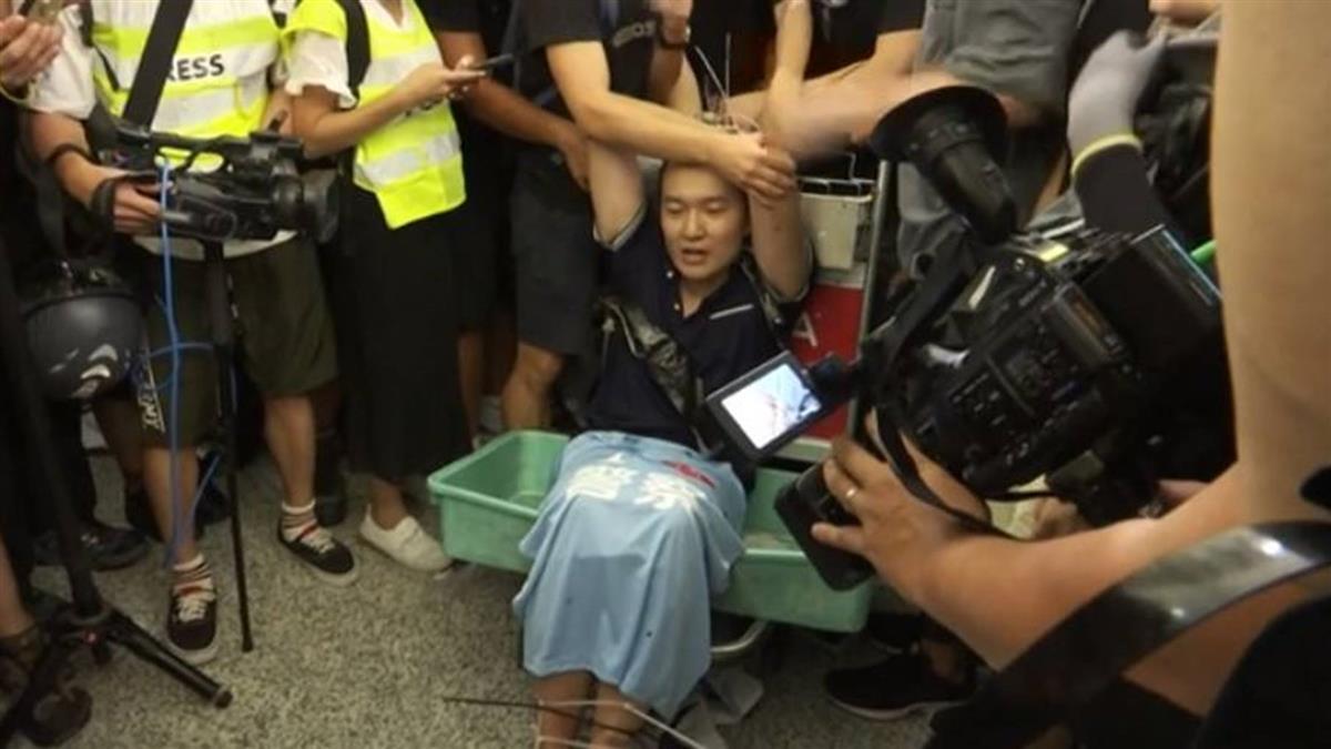 環時記者被圍毆綑綁  香港記協:沒配戴記者證