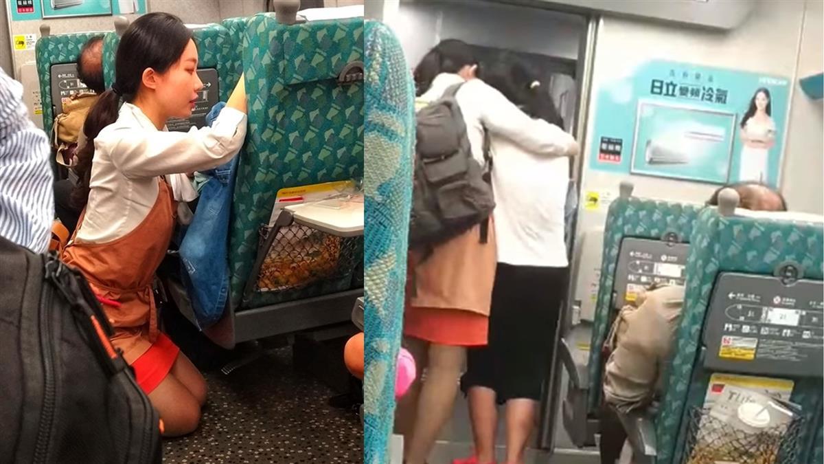 高鐵女乘客突淚崩!她蹲跪安慰1hr 暖哭4.5萬人