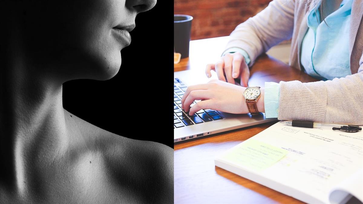 悚!女會計頸椎痠痛3年...脖子長出「包子」