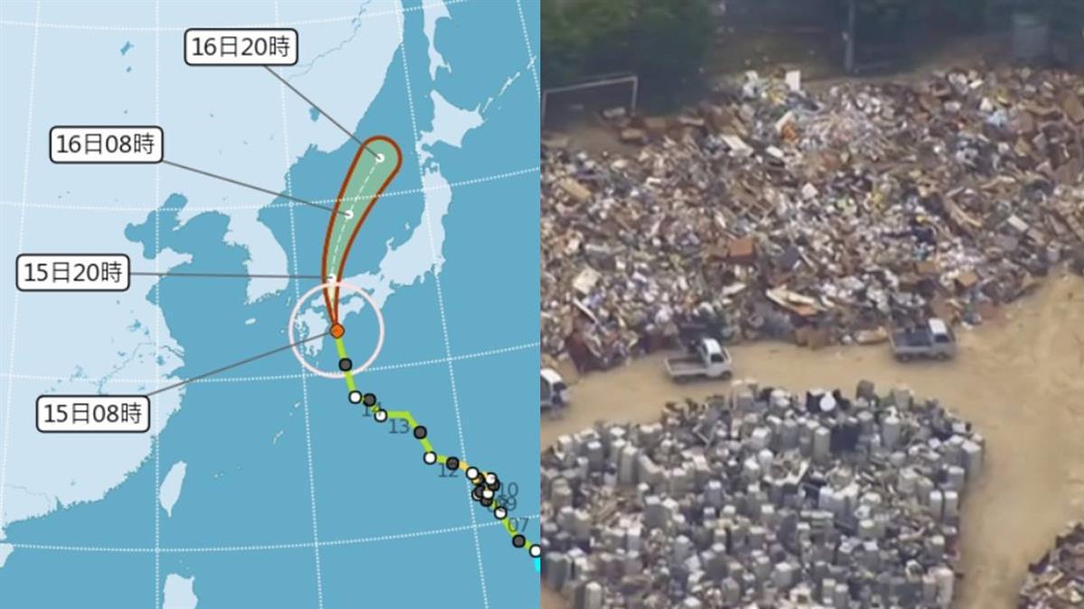 西日本高度警戒!柯羅莎挾強風暴雨逼近