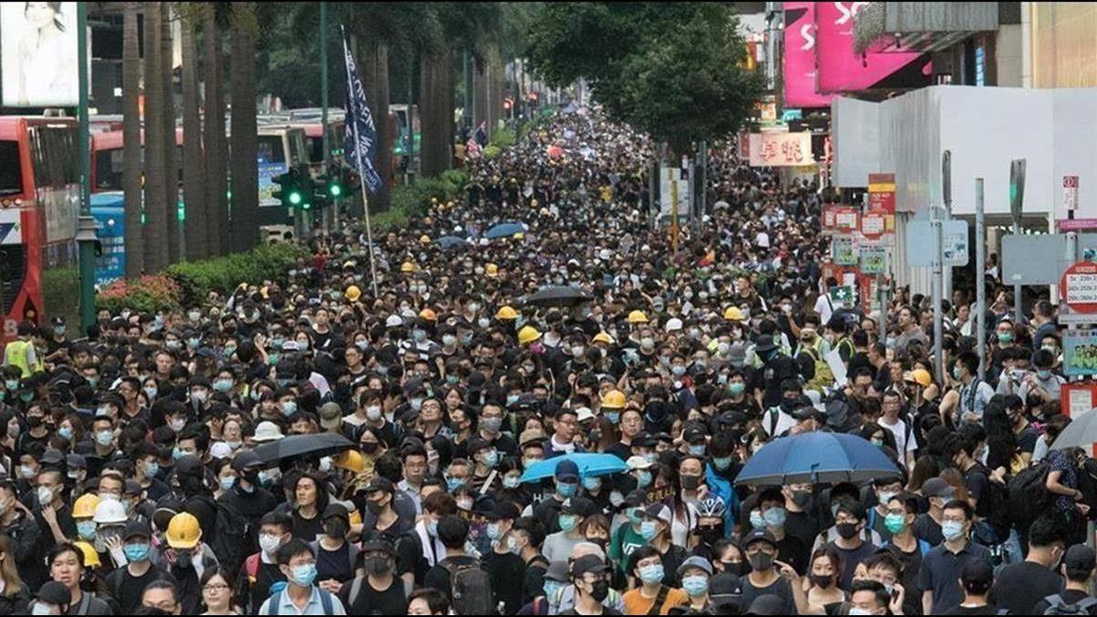 反送中促港人掀移民潮!台灣成第3移民熱點