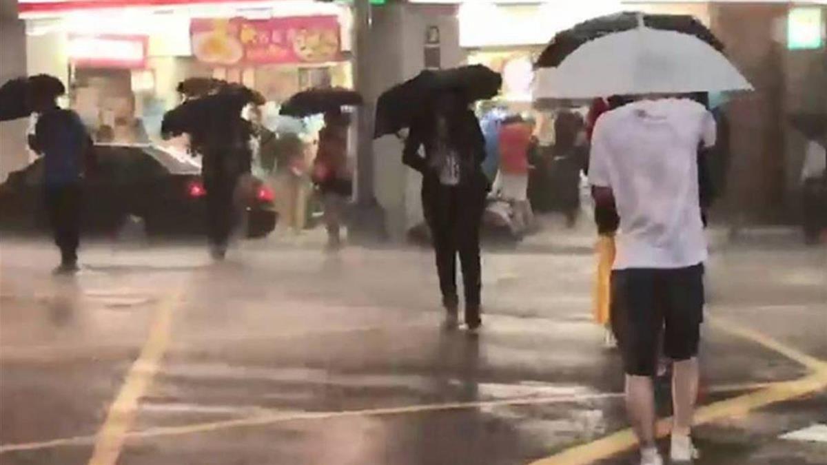 雨彈襲來!高雄市桃源區、那瑪夏區明停班停課