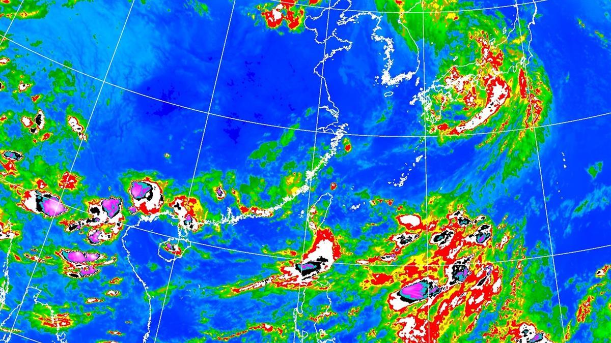 中南部9縣市豪大雨特報 氣象局曝強降雨時間