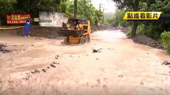 雨下不停!六龜露營農場 遭土石淹沒沖毀