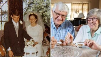 結婚蛋糕吃49年!老夫妻曝50周年驚人計畫