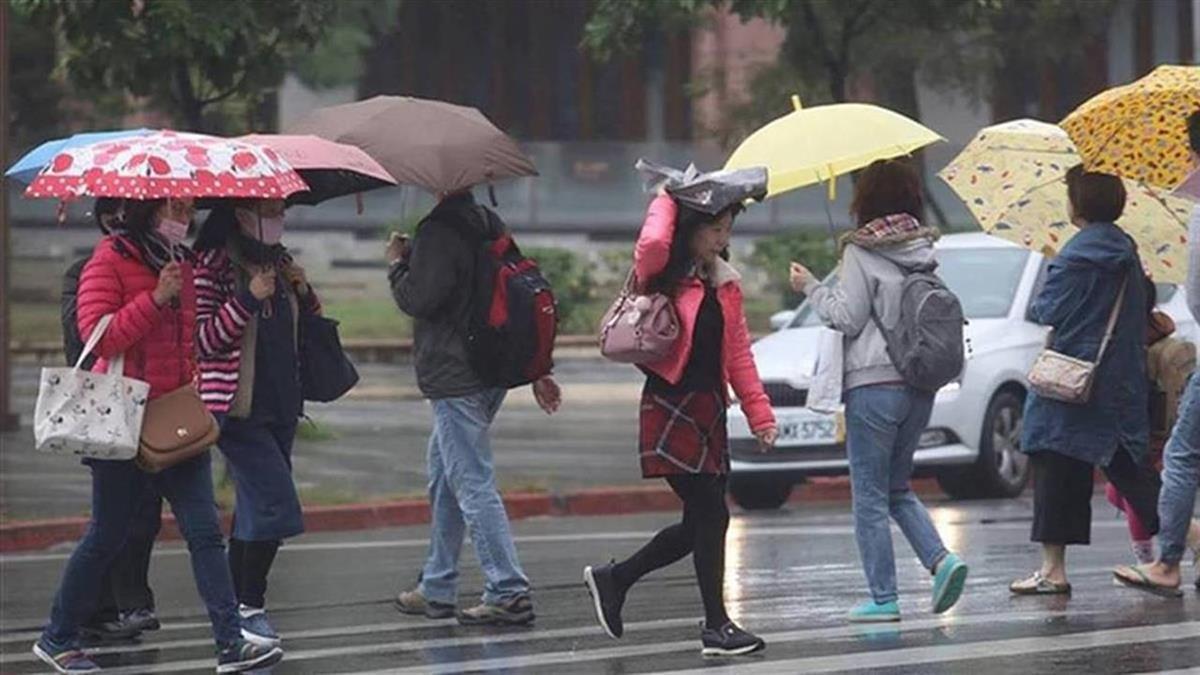 10縣市豪大雨特報!今防劇烈天氣 下周恐成颱
