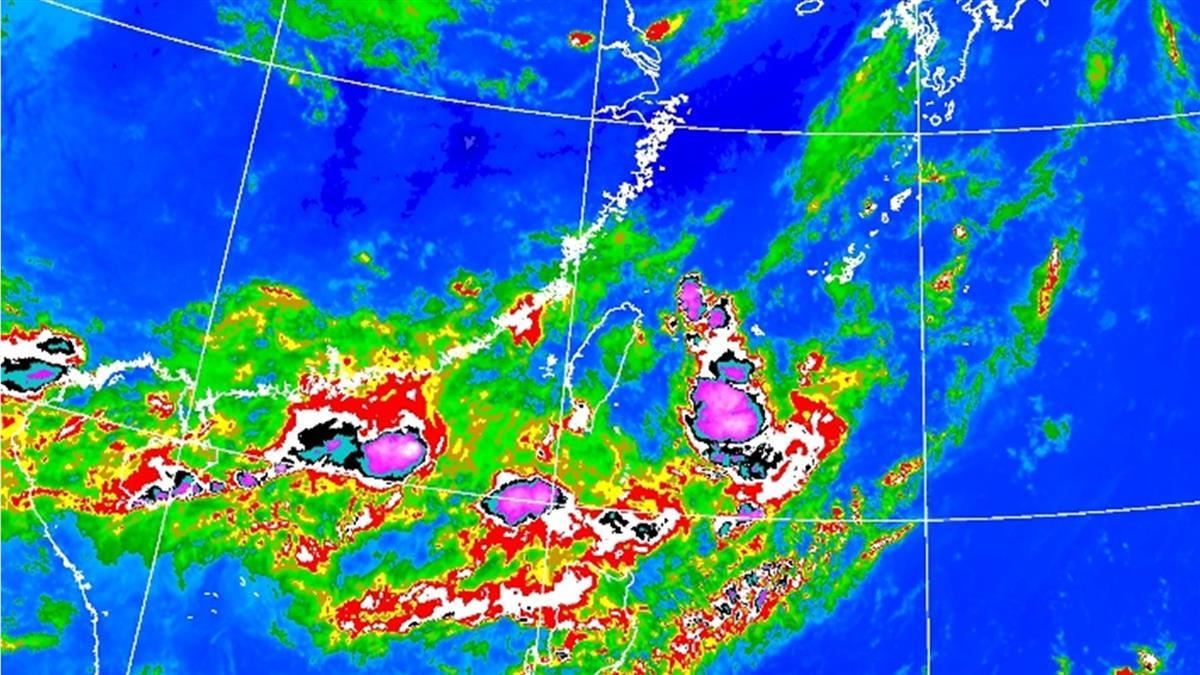 大雷雨炸高屏!8縣市豪雨特報 氣象局曝影響時間