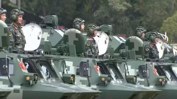恫嚇香港?陸官媒發布深圳武警公安操演影片