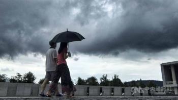 對流發展旺盛  北台灣下午2時前注意大雷雨