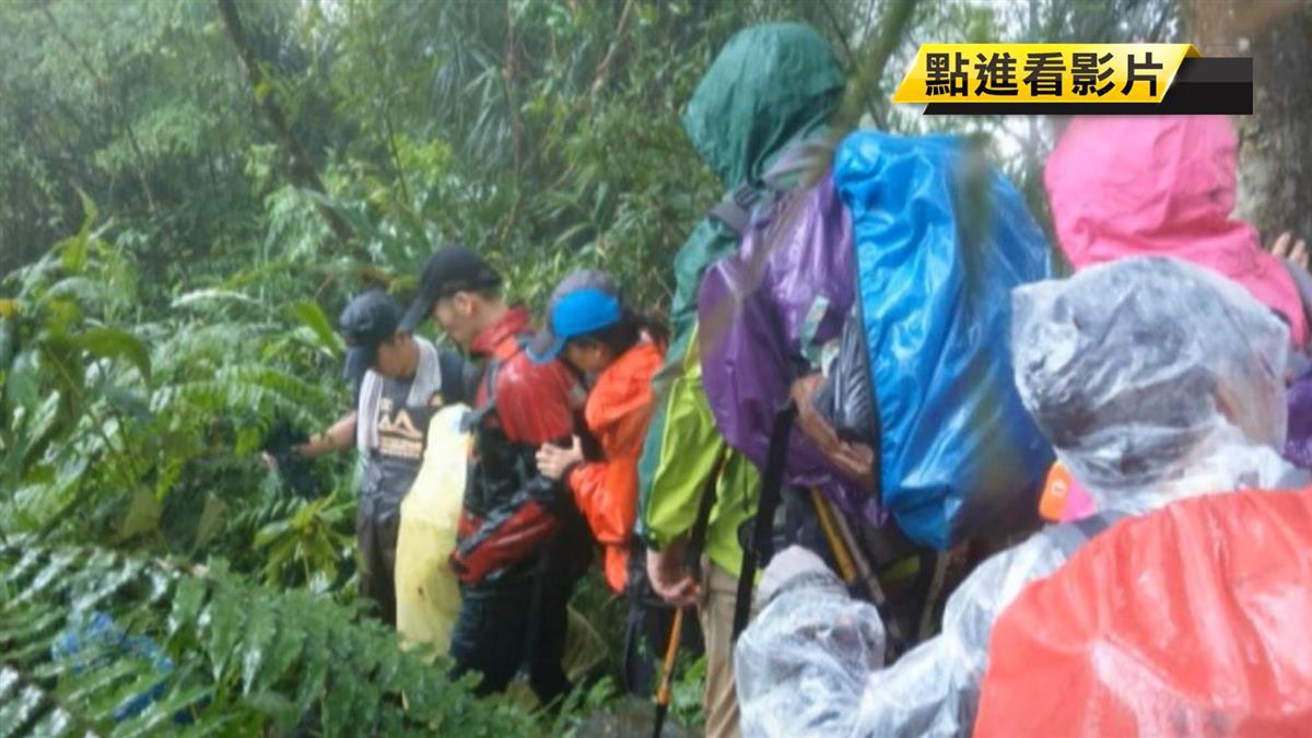 北部午後大雷雨特報 石碇7登山客遭雷擊送醫