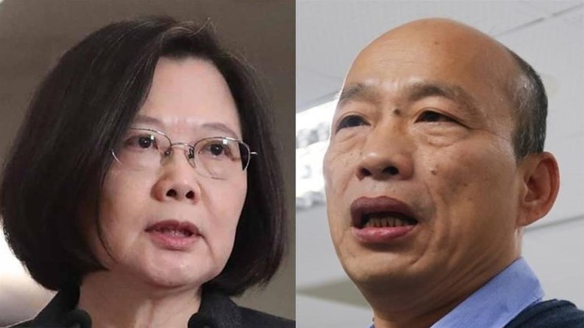 柯文哲:若蔡總統與韓國瑜對決 蔡總統會贏