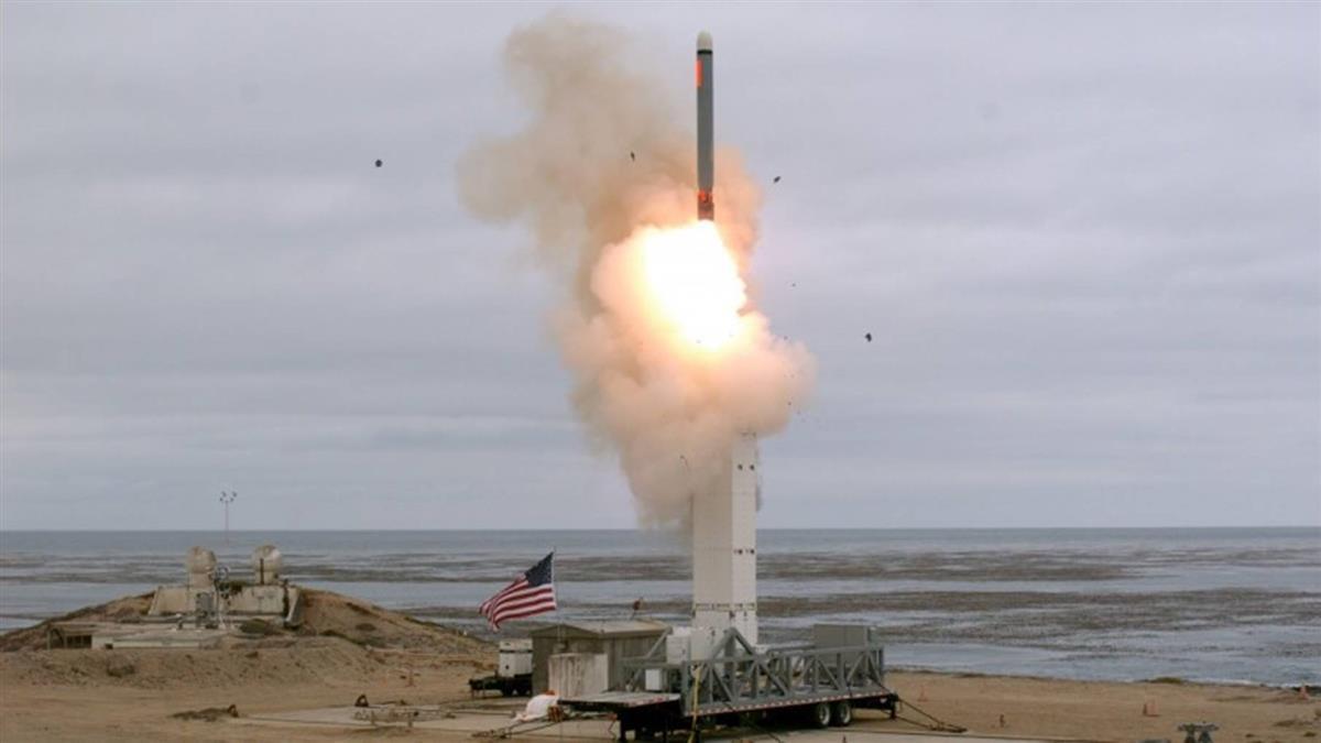 美退中程核飛彈條約後…首射中程巡弋飛彈
