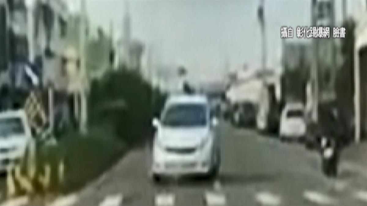 路口驚見白車逆向停紅燈 民眾:太離譜