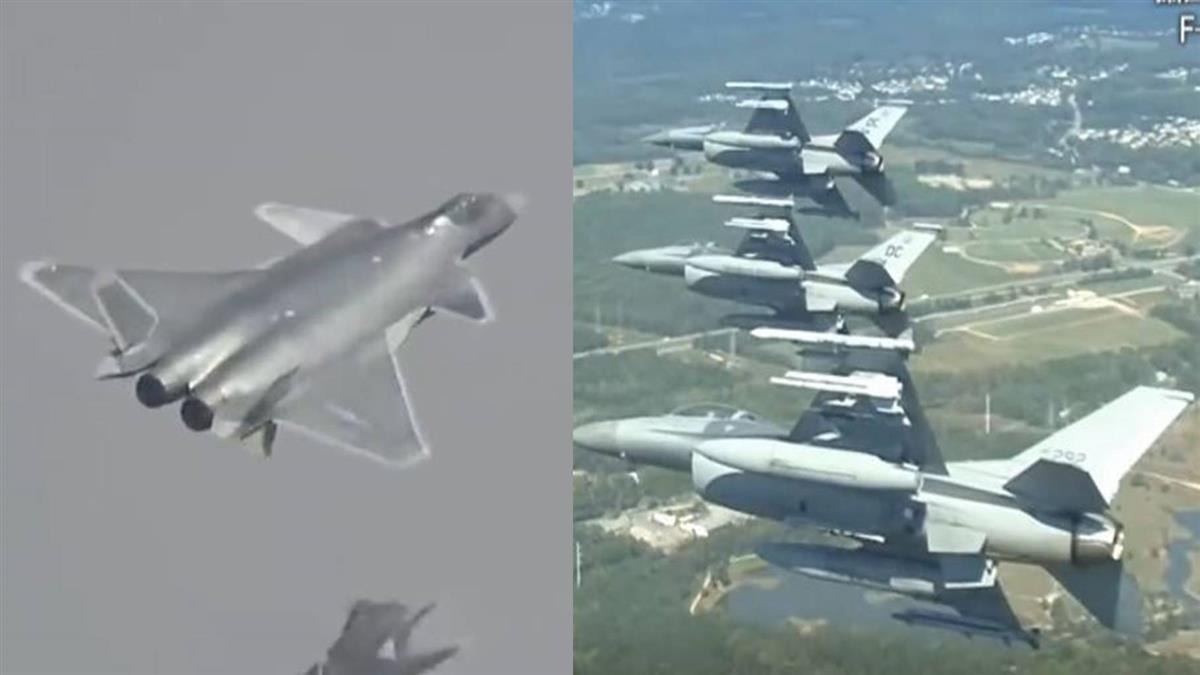 當F-16V對上殲20 匿蹤空戰誰勝負?