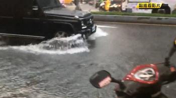 大雨又急又快!三重水淹至腳踝 多店家遭殃