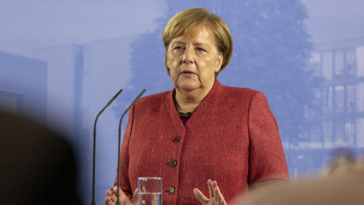 梅克爾會強生  暗示英國脫歐僵局仍有化解希望