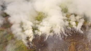 巴西森林火災加劇 總統牽拖NGO可能放火