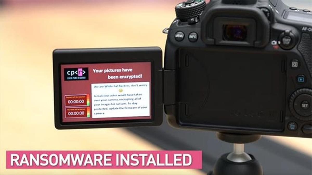 數位相機被駭客盯上!恐被植入勒索軟體中毒