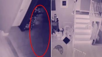 深夜12點空蕩客廳…飄進隱形男孩 畫面曝光