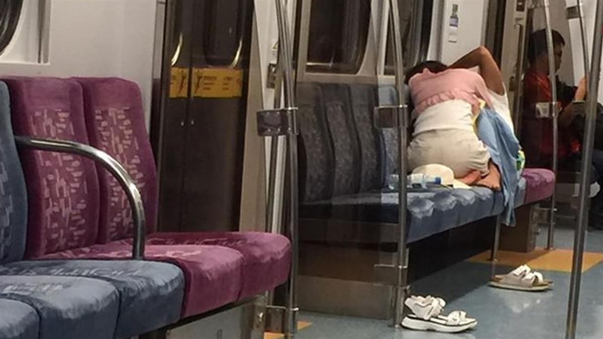 台鐵上演活春宮!情侶女上男下狂扭動 乘客嚇瘋