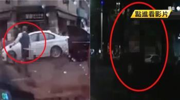 火爆男男惡意逼車挑釁 持刀追車嚇民眾