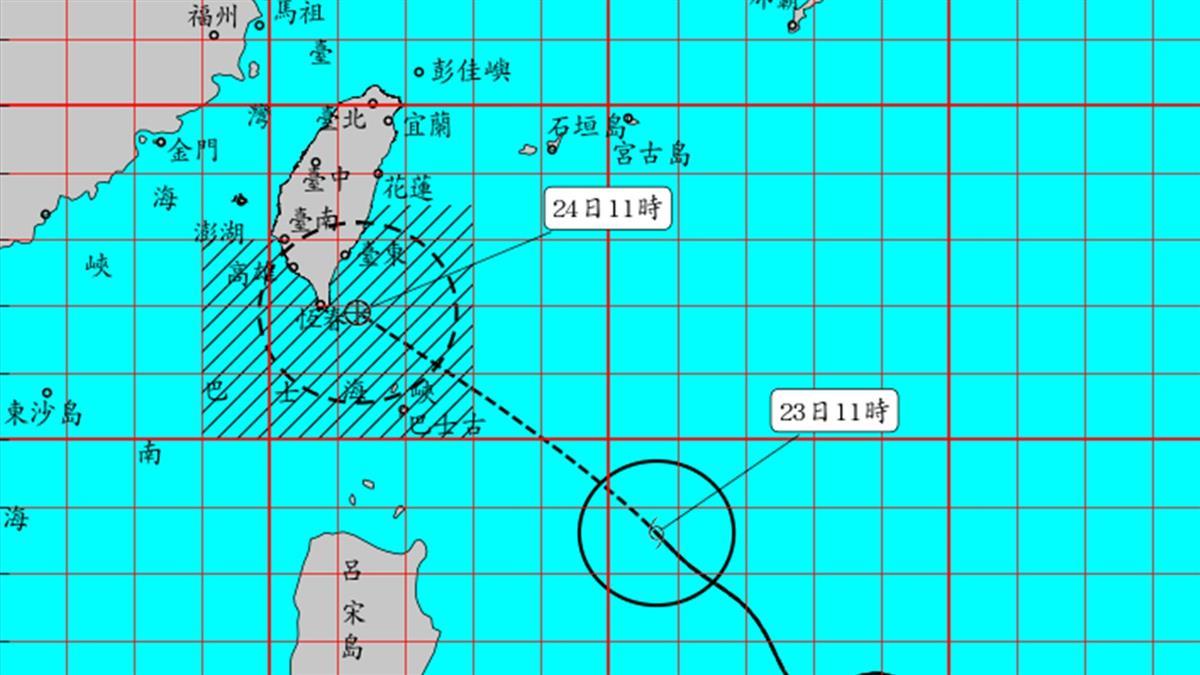 白鹿14:30發陸警!第12號颱風「楊柳」生成時機曝