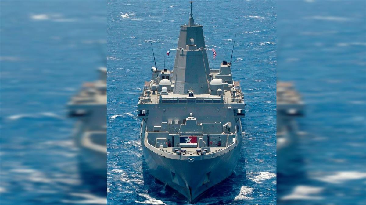 批准售台F-16V 美國軍艦再度通過台灣海峽