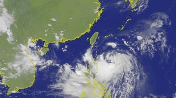 颱風白鹿總雨量預測  台東山區上看700毫米