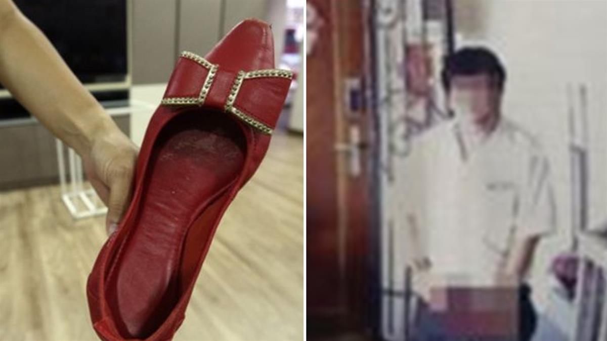 噁男拿紅高跟鞋撸小頭!女見鞋內子孫液嚇壞