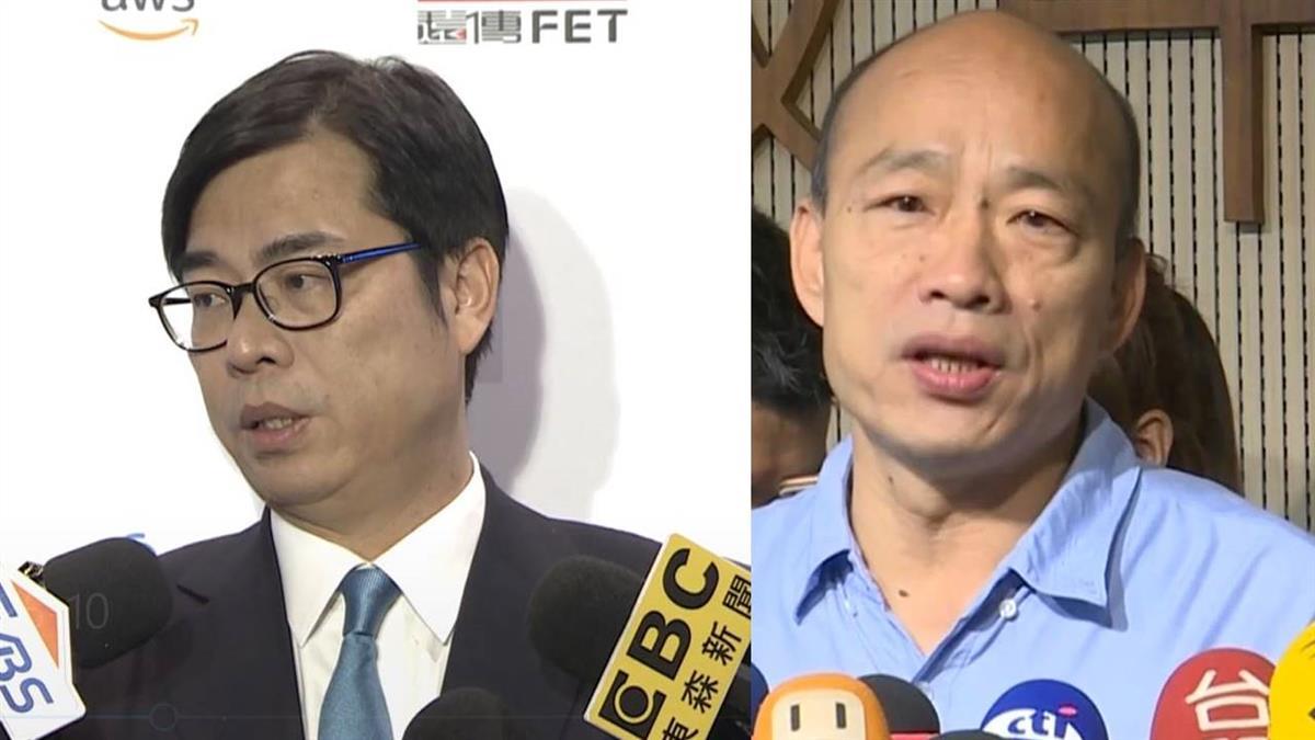 韓為防颱取消台中造勢 陳其邁酸:天經地義