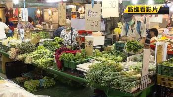 白鹿颱風尚未登陸 菜價先漲!民眾:少吃一點