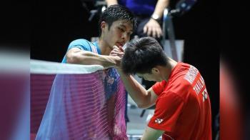不敵泰國小將 周天成羽球世錦賽止步8強