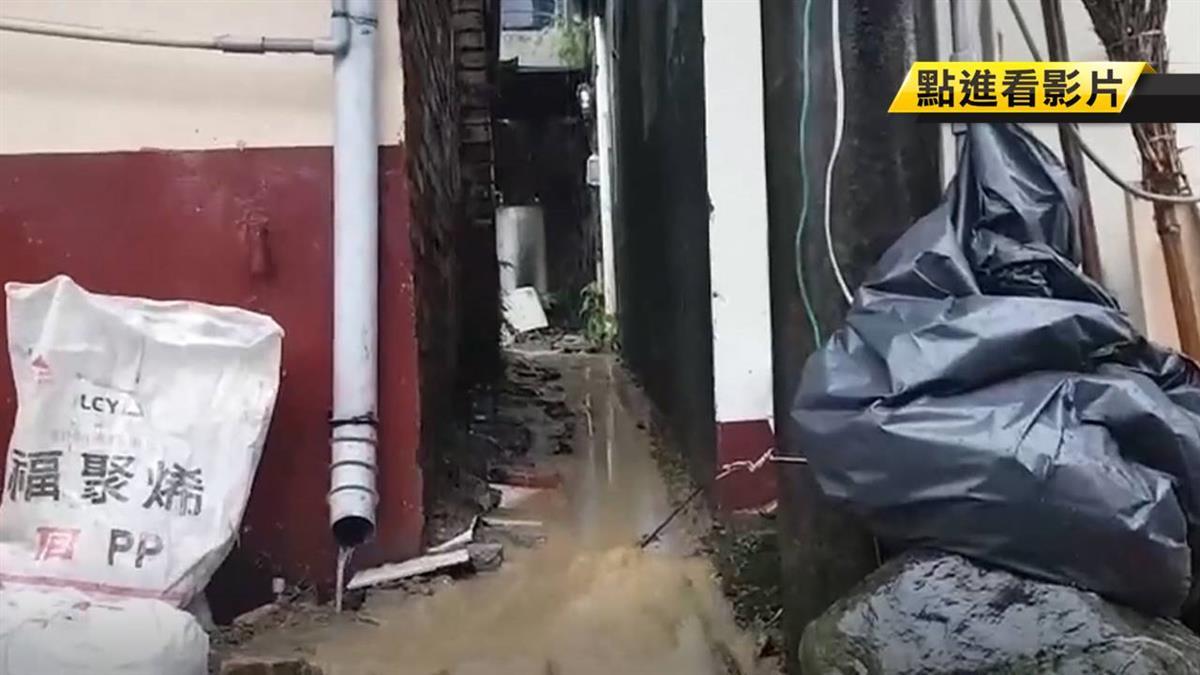 黃泥流衝民宅!陳其邁親自視察屏東滯洪池