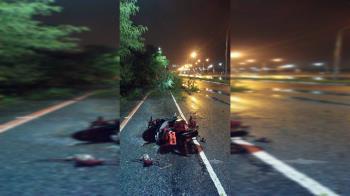 18歲男右胸遭路樹刺穿亡!父淚:血都流乾了