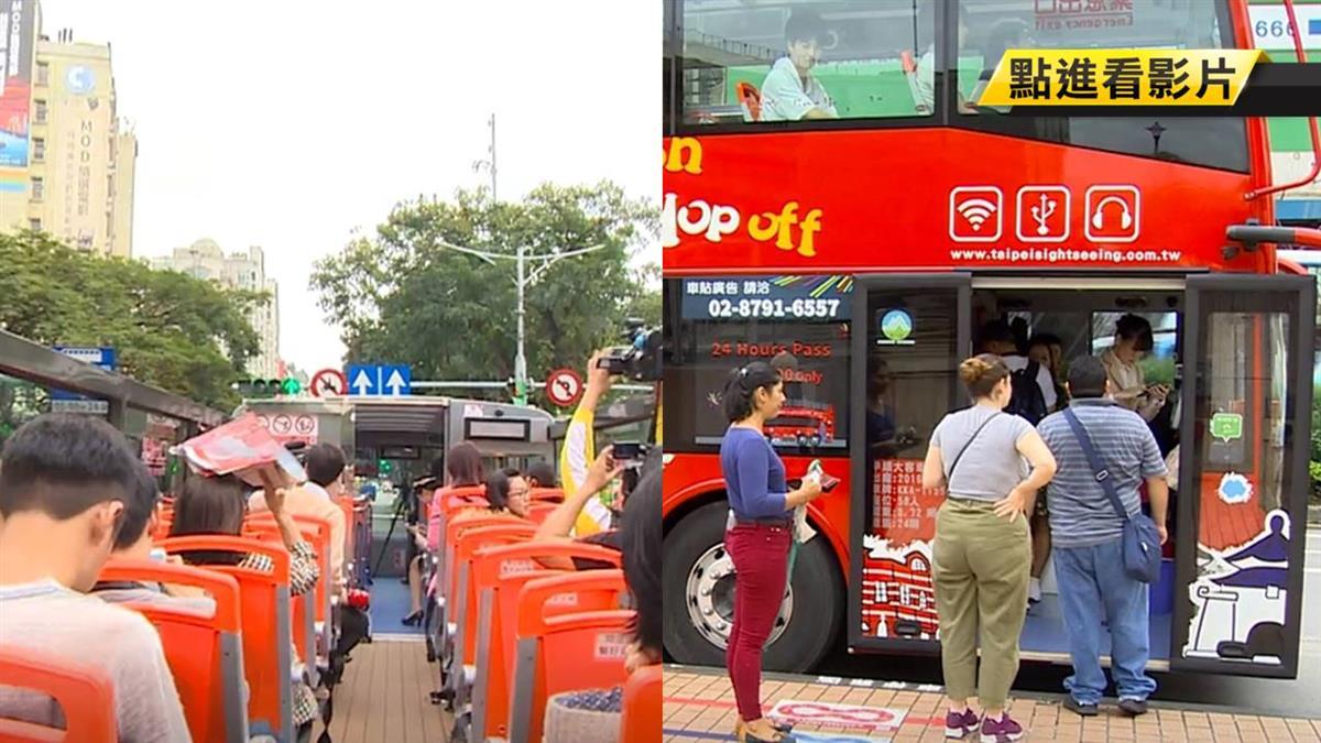 3年沒起色!北市雙層觀光巴士遭點名改善