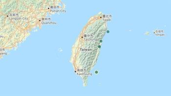 花蓮縣芮氏規模3.7地震 最大震度5級